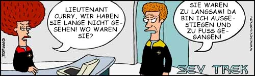 Sev Trek - die Deutsche Version